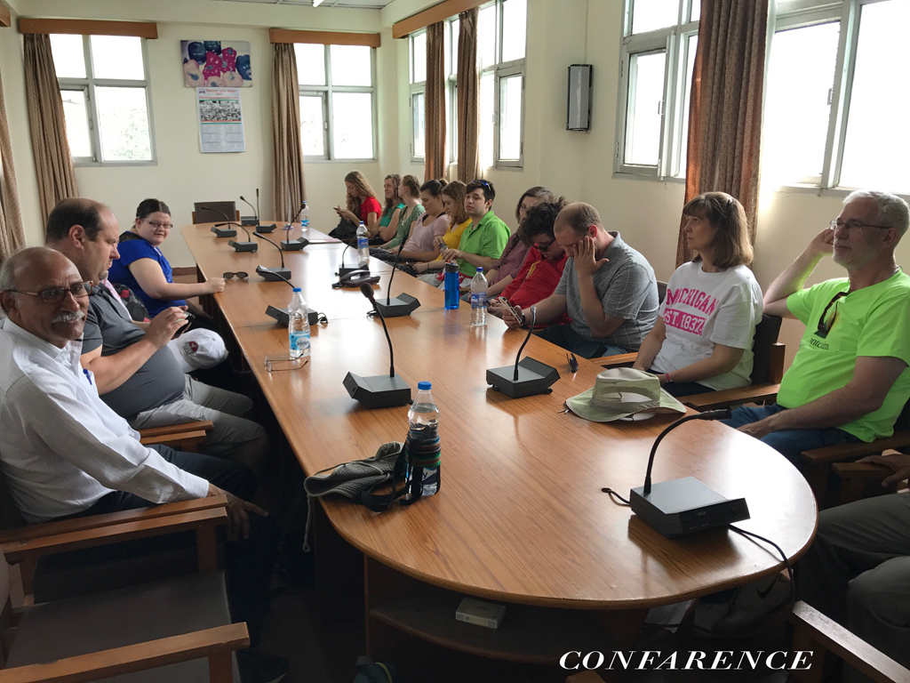 Conference Meeting With Foreigner Guest