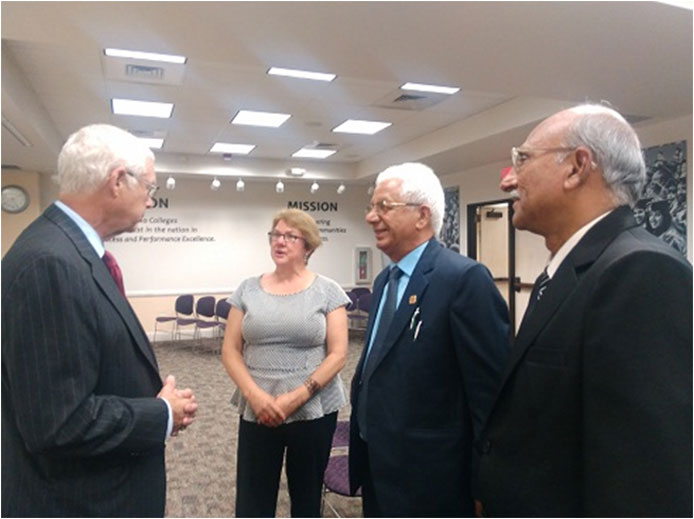 Interacting-with-Chancellor-Dr-Bruce-Leslie-Alamo-Colleges-San-Antonio-Texas