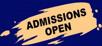 Admission Open for 2016-2017